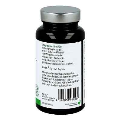 Nicapur Magnesiumcitrat 120 Kapseln  bei apo.com bestellen