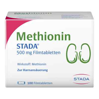 Methionin Stada 500 mg Filmtabletten  bei vitaapotheke.eu bestellen