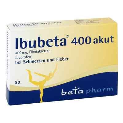 Ibubeta 400 akut  bei apotheke-online.de bestellen