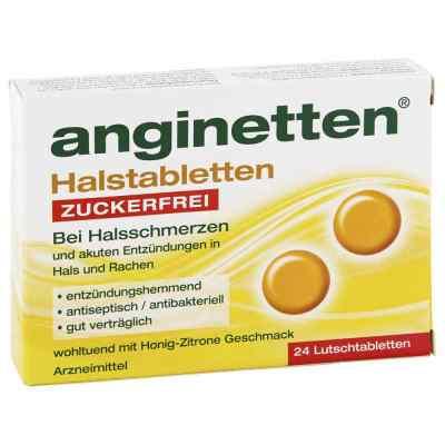 Anginetten Halstabletten zuckerfrei  bei apotheke-online.de bestellen