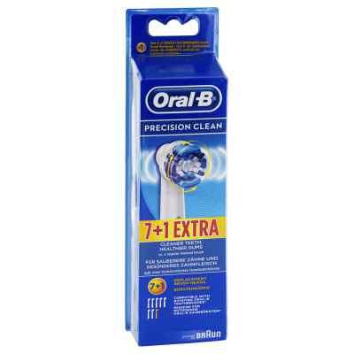Oral B Aufsteckbürsten Precision Clean 7er+1  bei apo.com bestellen