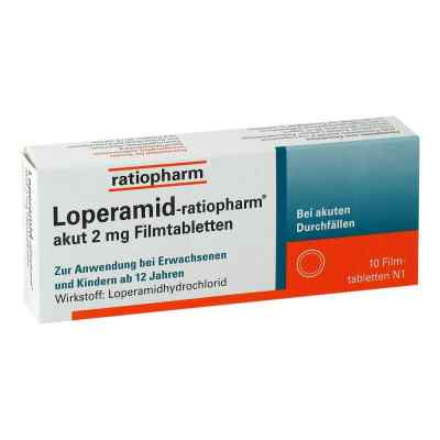 Loperamid-ratiopharm akut 2mg  bei apotheke-online.de bestellen