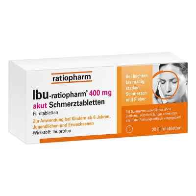 IBU-ratiopharm 400 akut Schmerztabletten  bei apotheke-online.de bestellen