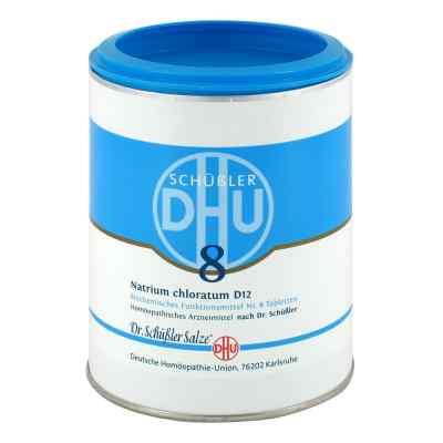 Biochemie Dhu 8 Natrium chlor. D 12 Tabletten