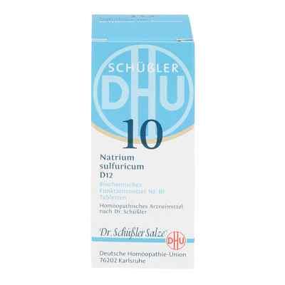 Biochemie Dhu 10 Natrium Sulfur D  12 Tabletten