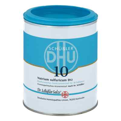 Biochemie Dhu 10 Natrium Sulfur D  12 Tabletten  bei apo.com bestellen
