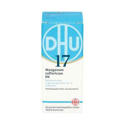 Biochemie Dhu 17 Manganum sulfuricum D 6 Tabletten  bei apo.com bestellen