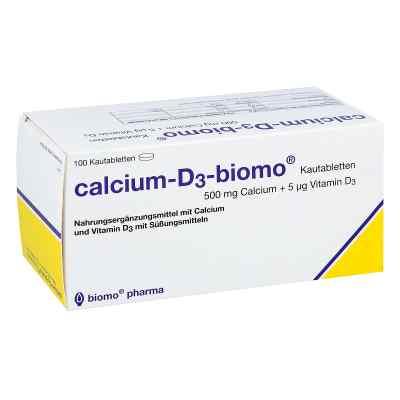 Calcium D3 biomo Kautabletten 500+d  bei apo.com bestellen