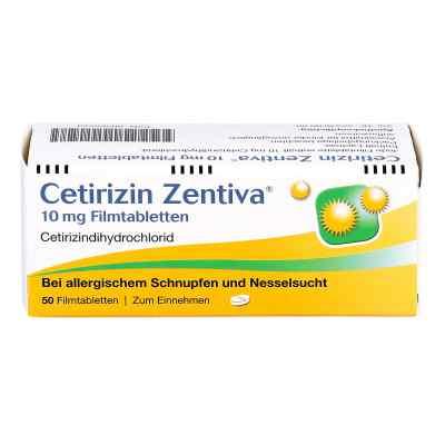 Cetirizin Zentiva 10mg  bei apo.com bestellen