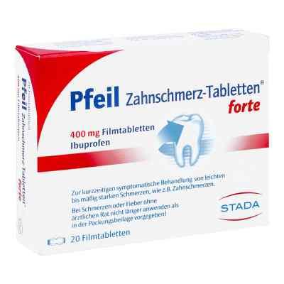 Pfeil Zahnschmerz-Tabletten forte 400mg  bei apo.com bestellen
