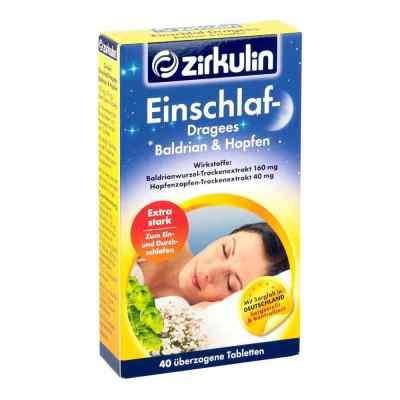 Zirkulin Einschlafdragees Baldrian Hopfen  bei apo.com bestellen