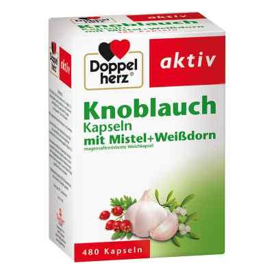 Doppelherz aktiv Knoblauch mit Mistel+Weißdorn  bei apotheke-online.de bestellen