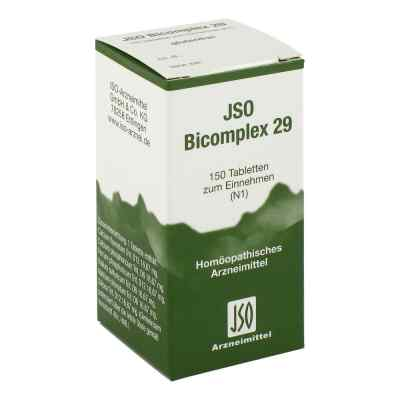 Jso Bicomplex Heilmittel Nummer  29