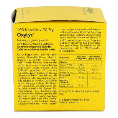 Oxylyc Kapseln  bei apo.com bestellen