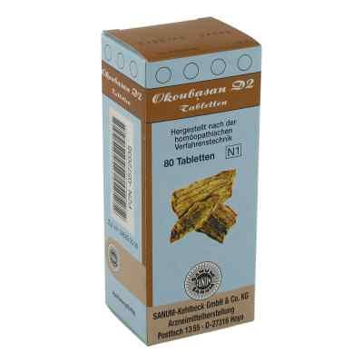 Okoubasan D2 Tabletten 80 stk von SANUM-KEHLBECK GmbH & Co. KG PZN 00572038