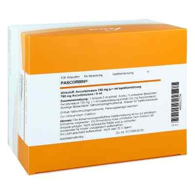 Pascorbin 750 mg Ascorbinsäure/5ml iniecto -lösung  bei vitaapotheke.eu bestellen