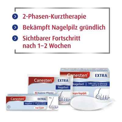 Canesten Extra-Nagelset gegen Nagelpilz (+15 Pflaster+Schaber)  bei apotheke-online.de bestellen
