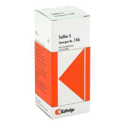 Synergon 156 Sulfur S Tropfen  bei apo.com bestellen