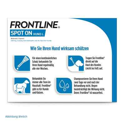 Frontline Spot on Hund 40 veterinär  Lösung  bei apo.com bestellen
