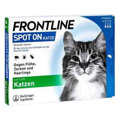 Frontline Spot on K veterinär  Lösung  bei apotheke-online.de bestellen