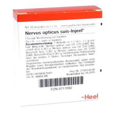 Nervus Opticus suis Injeel Ampullen  bei apo.com bestellen