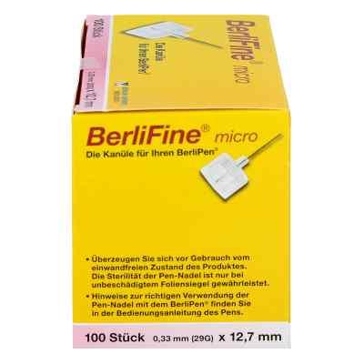 Berlifine micro Kanülen 0,33x12,7 mm  bei apo.com bestellen