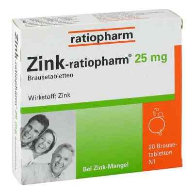 Zink-ratiopharm 25mg  bei apo.com bestellen