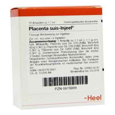 Placenta Suis Injeel Ampullen  bei apo.com bestellen