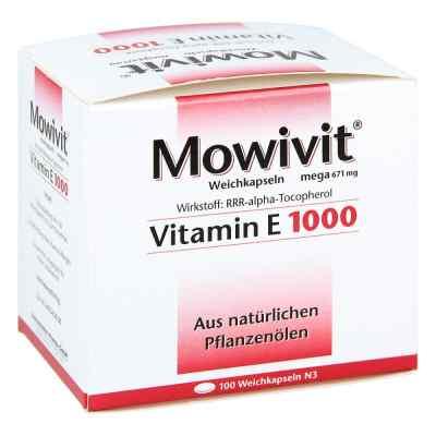 Mowivit Vitamin E 1000 Kapseln  bei vitaapotheke.eu bestellen