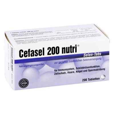 Cefasel 200 nutri Selen Tabs Tabletten  bei vitaapotheke.eu bestellen