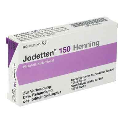 Jodetten 150 Henning 150 Mikrogramm  bei apo.com bestellen