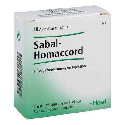 Sabal Homaccord Ampullen  bei apo.com bestellen