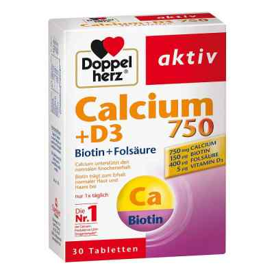 Doppelherz Calcium 750 + D3 + Biotin Tabletten  bei apo.com bestellen