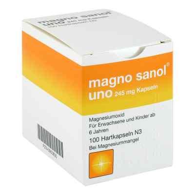 Magno Sanol uno 245 mg Hartkapseln  bei apotheke-online.de bestellen