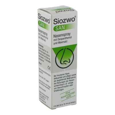 Siozwo San Nasenspray mit Dexpanthenol und Meersalz  bei apo.com bestellen