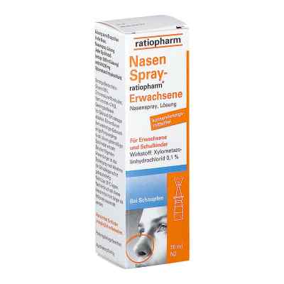 NasenSpray-ratiopharm Erwachsene  bei vitaapotheke.eu bestellen