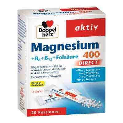 Doppelherz Magnesium + B Vitamine Direkt Pellets  bei apo.com bestellen