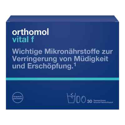 Orthomol Vital F Grapefruit Granulat/kaps.  bei apo.com bestellen