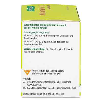Vitamin C A. Vogel Lutschtabletten  bei apo.com bestellen