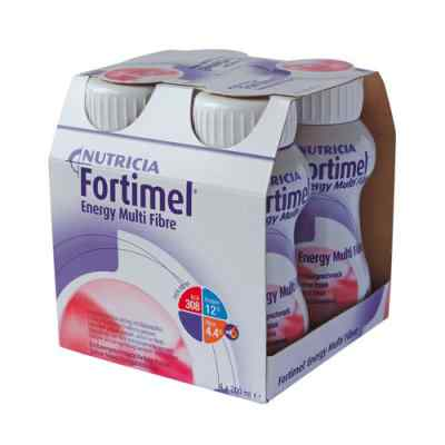 Fortimel Energy Multi Fibre Erdbeergeschmack  bei apo.com bestellen