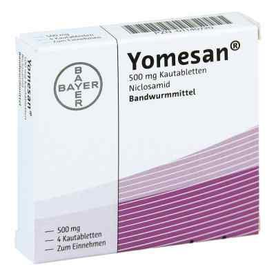 Yomesan 500 mg Kautabletten  bei apotheke-online.de bestellen