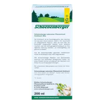 Knoblauch Naturreiner Pflanzentr.schoenenberger  bei apo.com bestellen