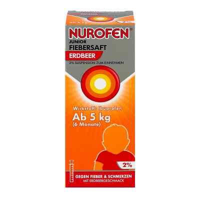 Nurofen Junior Fiebersaft Erdbeer 2%  bei apo.com bestellen