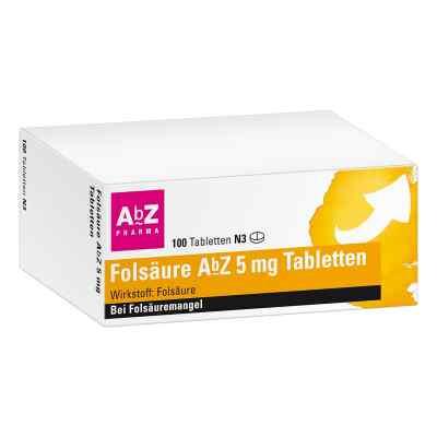 Folsäure Abz 5 mg Tabletten  bei apotheke-online.de bestellen