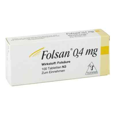 Folsan 0,4 mg Tabletten  bei apo.com bestellen