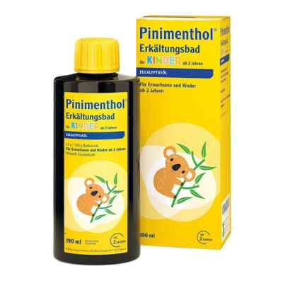 Pinimenthol Erkältungsbad für Kinder ab 2 Jahren Eucalyptus  bei vitaapotheke.eu bestellen