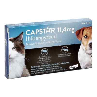 Capstar 11,4 mg für Katzen  und kleine Hunde Tabletten  bei apo.com bestellen