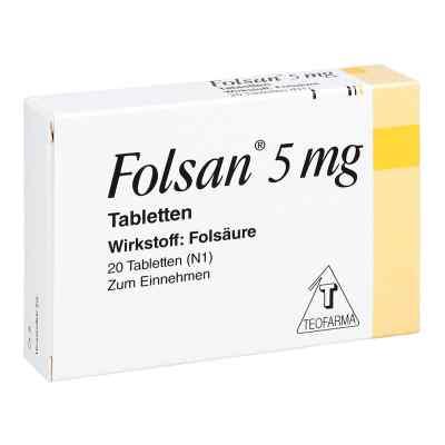 Folsan 5 mg Tabletten  bei apo.com bestellen