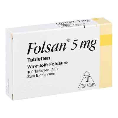Folsan 5 mg Tabletten  bei vitaapotheke.eu bestellen