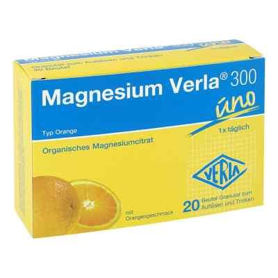 Magnesium Verla 300 Beutel Granulat 20 stk von Verla-Pharm Arzneimittel GmbH &  PZN 01316900